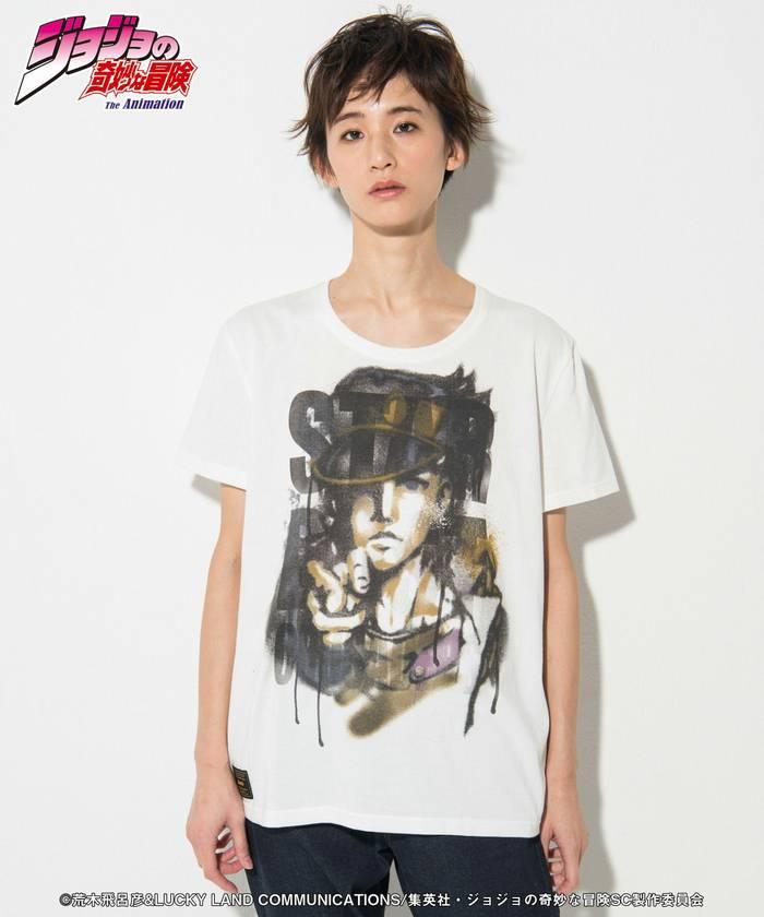 トップス, Tシャツ・カットソー glambGB0218 JJ01 : Jotaro T JOJO