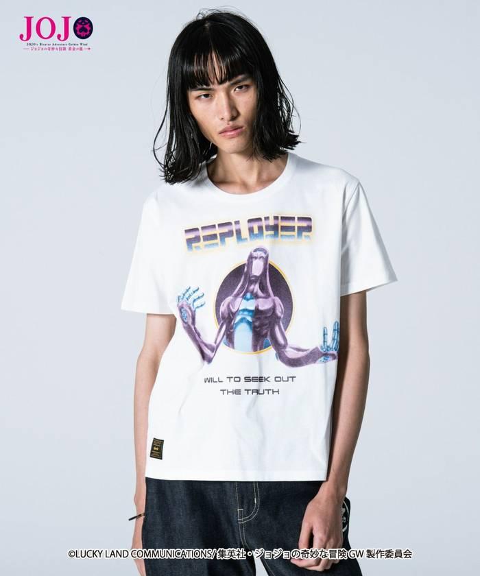 トップス, Tシャツ・カットソー glamb Leone Abbacchios stand T T JOJO vol.2