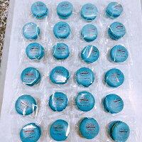 【送料無料】【チョコミントマカロン24個入】天然由来着色料チョコミン党ミントチョコチップ