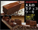 【送料無料】 生チョコケーキ 1本 (3?4名分) 生チョコ/ケーキ/チョコレートケーキ/誕生日/ギフト ★2個同時購入でドラ焼き1箱プレゼント!