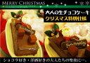 送料無料 クリスマスケーキ2017【クリスマス仕様】大人の生チョコレートケーキ1本(3?4名)