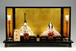 【木目込み雛】寿鶴雛真多呂作−人形のフタバ【送料・代引手数料サービス】