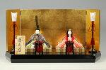 【木目込み雛】慶寿雛真多呂作−人形のフタバ【送料・代引手数料サービス】