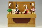 【木目込み雛】秀花雛真多呂作−人形のフタバ