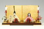【木目込み雛】瑞祥雛真多呂作−人形のフタバ【送料・代引手数料サービス】