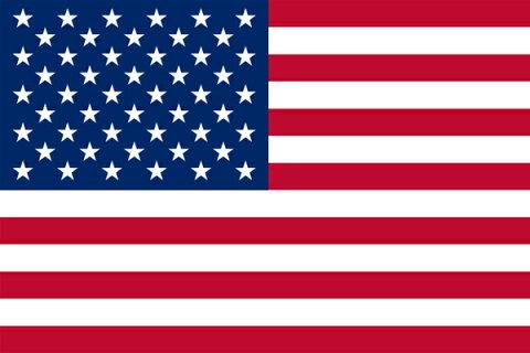 【卓上旗】アメリカ(テトロン製) ミニ卓上旗(10×15cm)【領収書発行】