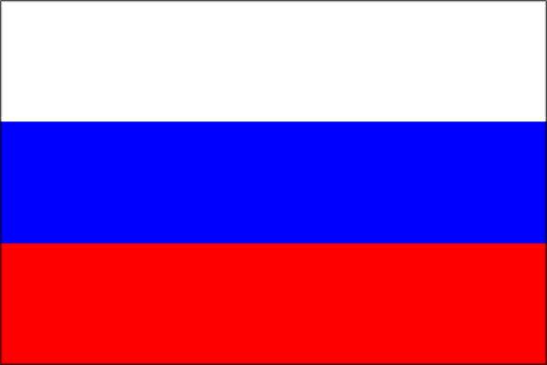 【卓上旗】ロシア(テトロン製) ミニ卓上旗(10×15cm)【領収書発行】
