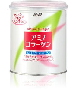 ★税抜5000円以上で送料無料★明治 アミノコラーゲン 200g 缶(パウダー)