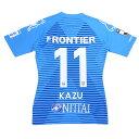横浜FC 2020 オーセンティックユニフォーム NO11 KAZU 三浦知良 キングカズ サッカージャンキー YSJ2000157 サッカー Jリーグ