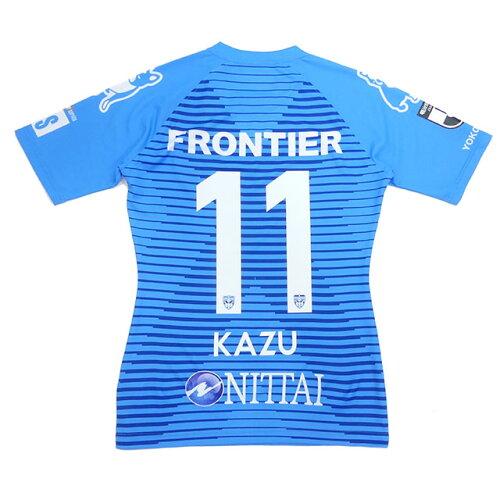 横浜FC 2020 オーセンティックユニフォーム NO11 KAZU 三浦知良 キングカズ サッカージャンキー YSJ2000157