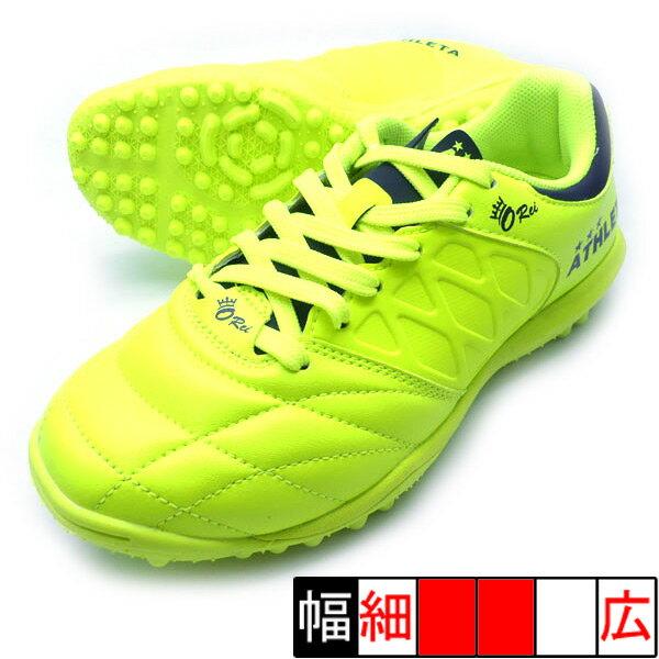 新作 O-Rei Treinamento J001 アスレタ ATHLETA 12009J-29 FYE F.イエロー サッカー ジュニア トレーニングシューズ