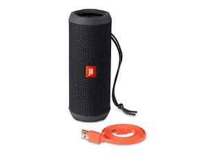 防水(IPX5対応)!ワイヤレスBluetooth対応、小型・高音質スピーカーJBLFLIP3ブラック【FLIP3BLKJN】国内正規品