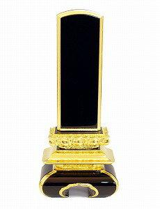 位牌 国産 山科 会津塗 漆 上京中台 30 本金箔仕上