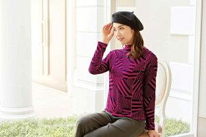 リヨセルリバーラインキカシェイド美ラインカットソーミセス人気おしゃれファッション通販専門店40代50代60代の方