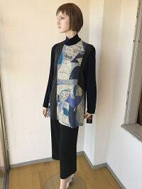 オフタートル チュニック ニットセーター 日本製 インポート 高級素材  ミセスファッション ミセスファッション通販 キレイ ステキ ミセス ファッション 人気 おしゃれ 通販 専門店 40代50代60代の方にお勧め