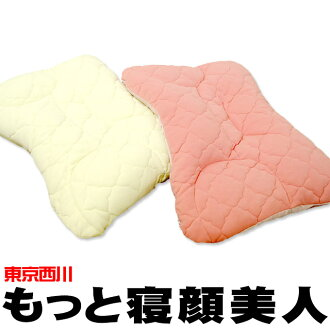 """Nishikawa and East no.1225 River East no.1225 River doctor recommended health pillow """"more sleeping beauty ' approximately 53 x 38 cm? s tag, box notation (side fabric size): approximately 56 x 40 cm."""" more washable / sleeping beauty pillow / pipe / stif"""