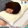 日本製 アウトラスト ハニカム立体構造 枕パッド M 36×50cm 無地 【あす楽対応】