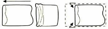 【テンピュール/TEMPUR】スムースボーダーピローケース(オリジナルネックピロー・ミレニアムネックピローにぴったり枕カバー)封筒型テンピュール枕/ピロケース/まくらカバー/まくら/枕/pillow