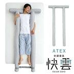 7/31の情報番組「ZIP!」で紹介されました。アテックス 空調寝具 快雲そよ SOYO そよ クッション 抱き枕 涼感寝具 扇風 AX-BSA607gr 【送料無料】【あす楽対応】敬老の日 1ヶ月の電気代が約12円 ATEX