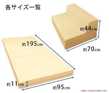 【最大700円OFFクーポン配布】ブリヂストン日本製4つ折りソファマットレスシングルソファーマットレスマットソファカウチブリジストンソファーベッドソファベッド硬さ130ニュートン送料無料