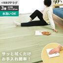 い草風 洗える PPラグ 3畳 174×261cm 日本製