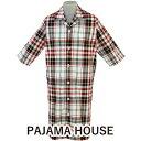 【pajama house】パジャマハウス 先染マドラスチェ...
