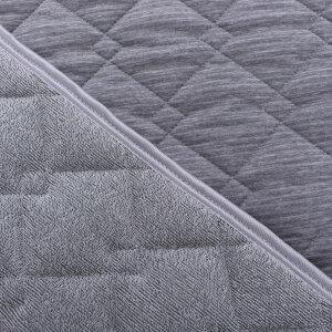 接触冷感×ワッフル生地のリバーシブル敷きパッド西川ひんやりマットひんやり敷きパッドさらさら加工夏接触冷感Q-MAX0.4敷パッドシングル約100×205cm四隅ゴム付きシングル冷感涼感クール両面使える
