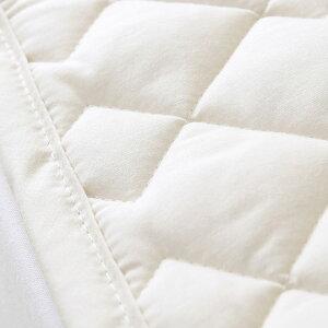 【西川・ベッドパット・クィーン・日本製】ダニが気になる方に!西川の洗えるベッドパッド/1333ダニクリーン(200cm用)クィーン