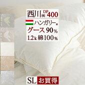 【西川チェーン賞連続受賞】【増量1.3kg】東京西川羽毛布団シングルフランス産ダウン93%の羽毛布団です。西川産業のシンプル素敵な上質羽毛布団をお届け!シングル
