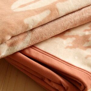 【綿毛布シングル日本製】やさしさ・やわらかさ・気持ちよさにこだわった綿毛布。ロマンス小杉・ニューマイヤー綿毛布(パイル綿100%)ヴィンテージ綿毛布もうふ毛布綿毛布毛布シングル