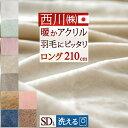 特別ポイント10倍 10/11 7:59迄 西川 毛布 セミダブル 東京西川 西川産業 アクリルニューマイヤー毛布(毛羽部分アクリル100%)セミダブル アクリル毛布 軽量毛布 もうふ