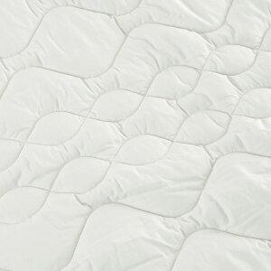 西川ベッドパッドセミダブルウォッシャブル洗える東京西川西川産業抗菌防ダニポリエステルベッドパッド200cm用セミダブル敷きパッド西川