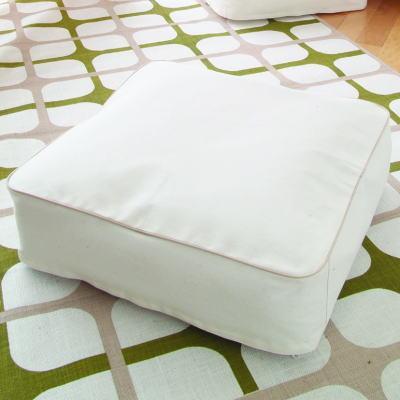 見せる収納 クッションになる布団ケース 布団収納袋 ふとん収納袋 寝具収納袋 スクエア 四角型 ...