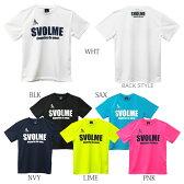 【171-19000】svolme/スボルメ ロゴプラTシャツ(フットサル 171-19000 プラクティス プラシャツ サッカー)