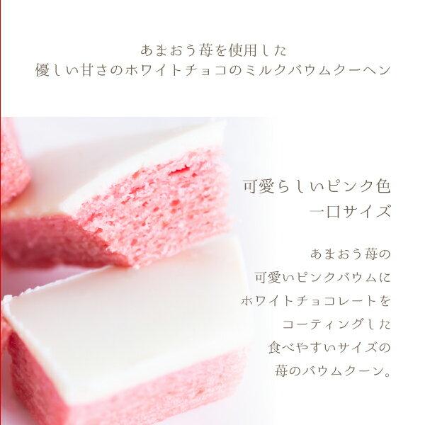 博多風美庵『あまおう苺ミルクバウムクーヘンお試しセット』