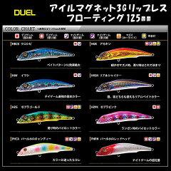 DUEL(デュエル)/アイルマグネット3G リップレス フローティング 125mm【05P11Jan14】【RCP】