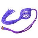【送料無料】≪3≫風水 気浄化●紫の袋入り水晶玉●30mm玉...