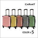 【CARART】キャラート | アートケース | ベーシック カウボーイタータン | フレーム4輪 | 機内持込 【 着替商品 】 【 スーツケース 】 【 BC-etc 】 【 CRA-01 】