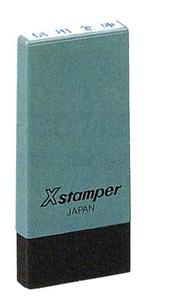 シャチハタ スタンプXスタンパー 科目印 4×21mm