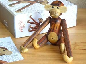 カイ・ボイスン Kay Bojesen モンキー Monkey 猿 小 Sサイズ チーク 木製人形 Wood Toy Sカイボイスン デンマーク 北欧 動物 木製 お祝い プレゼント