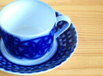 グスタフスベリ【Gustavsberg】/ブローヒューサル/BlaHusar】/カップ&ソーサー【北欧雑貨】【北欧食器】【ビンテージ食器】