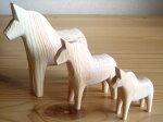 グラナスGrannas/ダーラナホースDalahorse(17cm)/木製玩具|北欧雑貨|ナチュラルウッド|木製馬|ハンドメイド