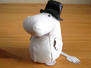 ムーミン Moomin/ ムーミンパパ/ レザーペーパーウェイト/専用クラフトボックス入りでプレゼン...