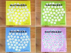 大人気のプケッティ(Puketti)パステル4色をセットにしたマリメッコ/Marimekkoのペーパーナプキ...