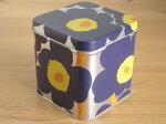 マリメッコMarimekko/ウニッコUnikko/カンケースTinBox(缶ボックス)