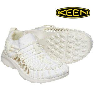 キーン UNEEK SNK SLIP-ON(ユニーク スニーク スリップオン) 1022364 メンズシューズ 白靴 白スニーカー ホワイト