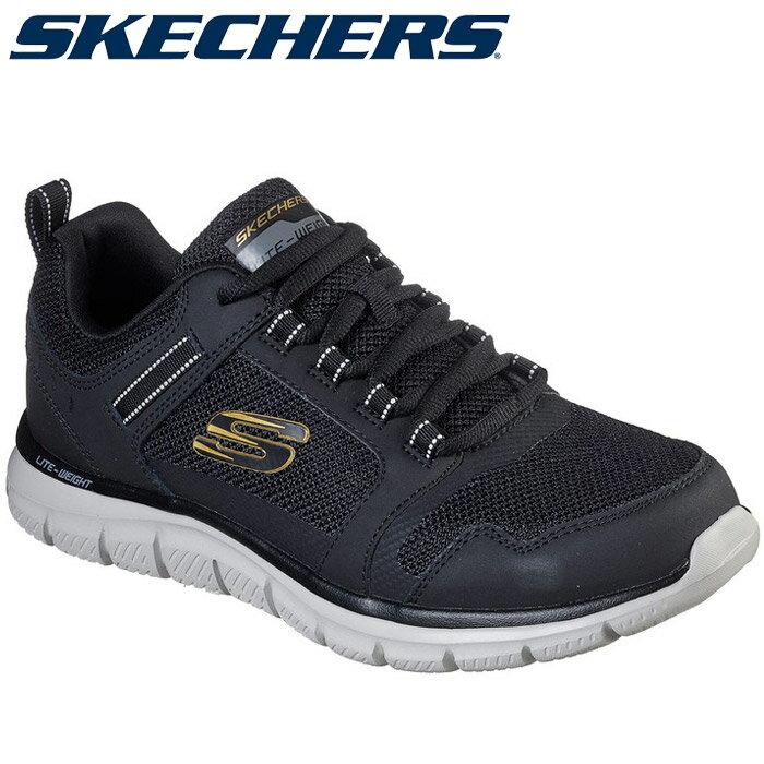 スケッチャーズ TRACK - KNOCKHILL 232001-BKGD メンズシューズ 20SS SKECHERS画像