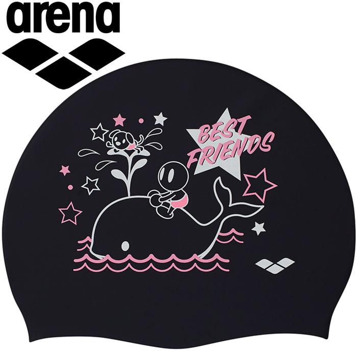 水泳, スイムキャップ・水泳帽  ARN-9404-BLK