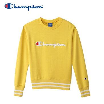 チャンピオン スウェットシャツ クルーネック アクティブスタイル レディース CW-NS013-740