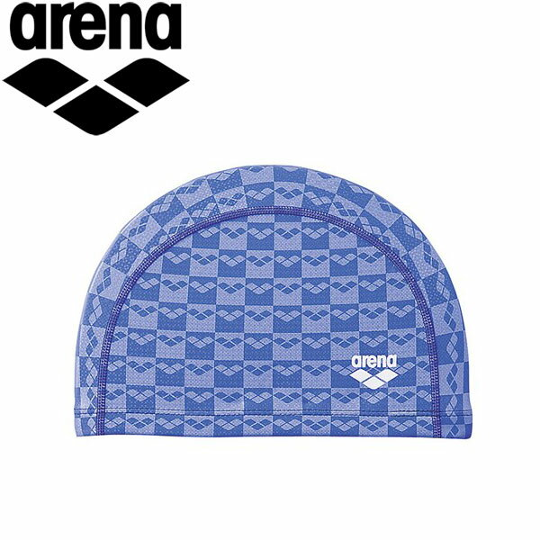 ◇アリーナ水泳スイムキャップ水泳帽メンズレディースジュニア2ウェイシリコンキャップARN6407-RBLU